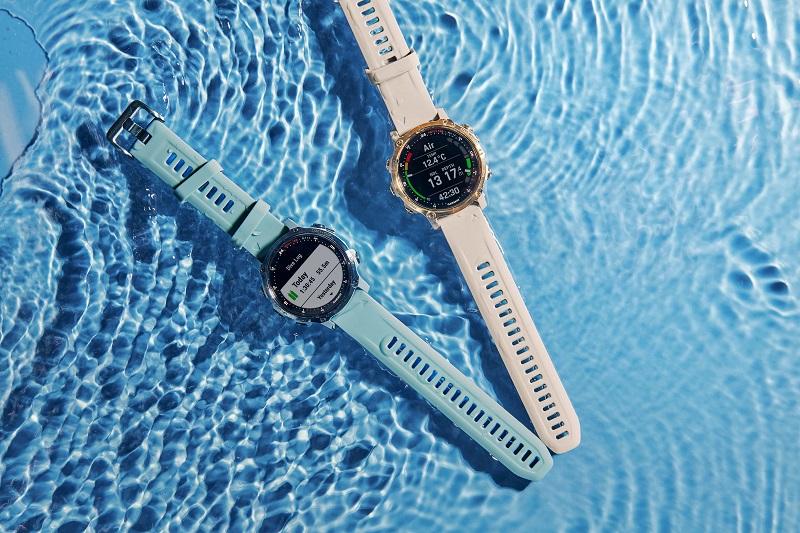 Garmin推出業界最輕巧「Descent Mk2S GPS潛水電腦錶」全機僅重60g,43mm錶徑搭配1.2吋陽光及水下清晰可讀的彩色螢幕